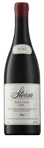 Storm Wines  Vrede Pinot Noir 2016